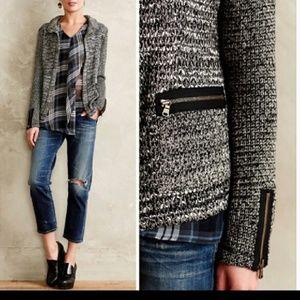 Anthropologie  Cartonnier  Newry knit blazer mediu
